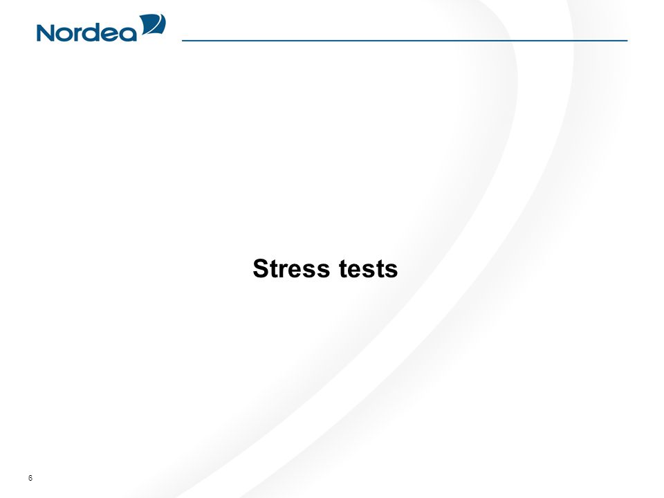 6 Stress tests