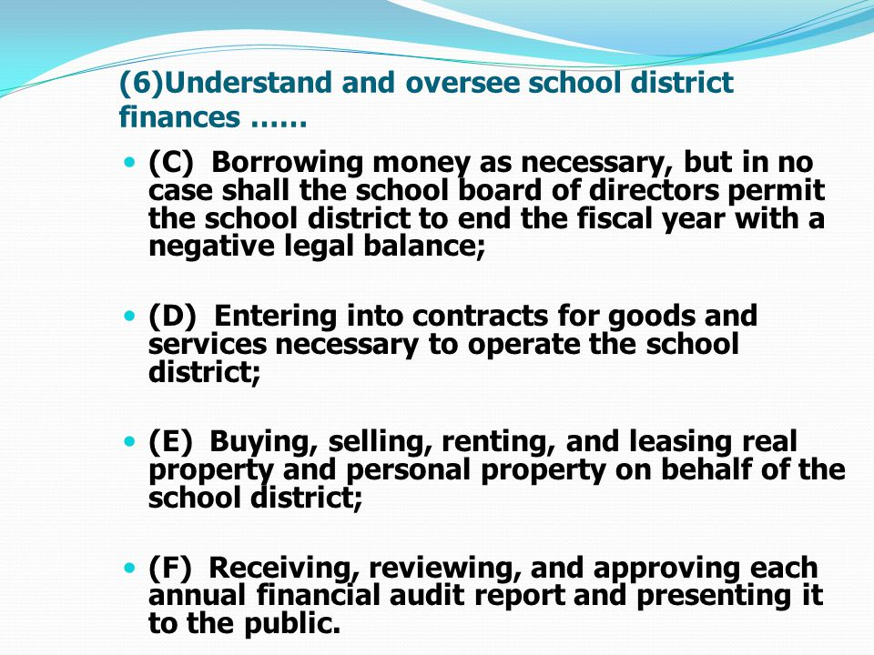 Miscellaneous Funds included in Foundation Aid calculation Average of previous five-years If a district did not receive a category of miscellaneous funds in the previous year, then that category of miscellaneous funds will not be included in the calculation for the next school year.