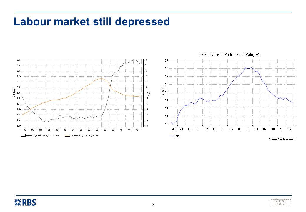 CLIENT LOGO 3 Labour market still depressed