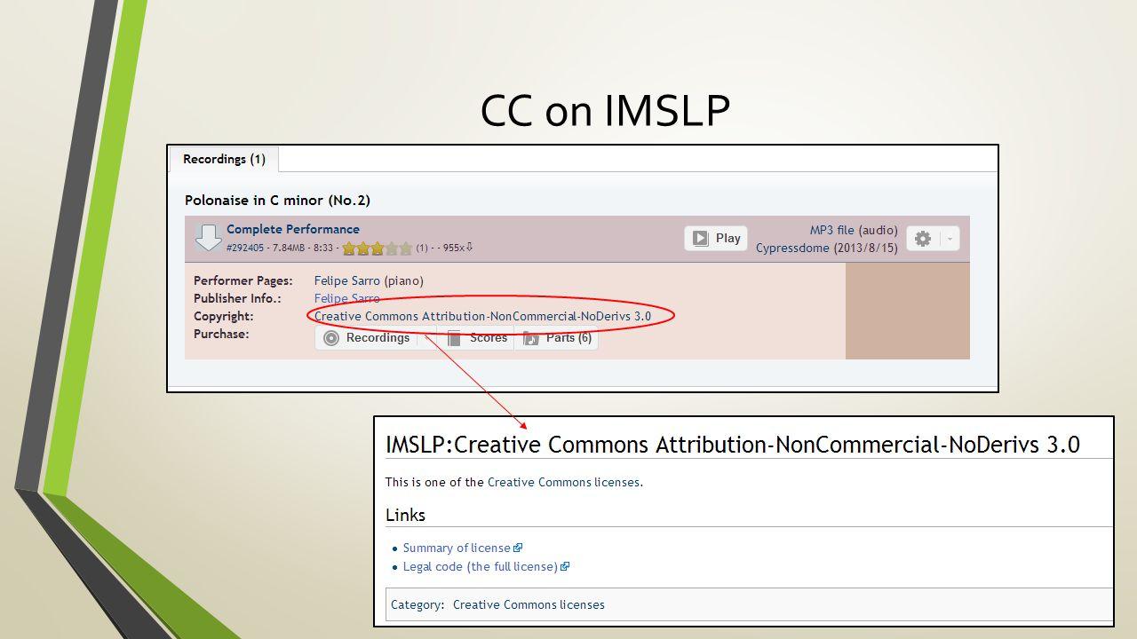 CC on IMSLP
