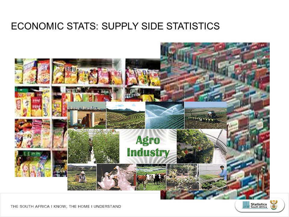 What South Africans die of... ECONOMIC STATS: SUPPLY SIDE STATISTICS