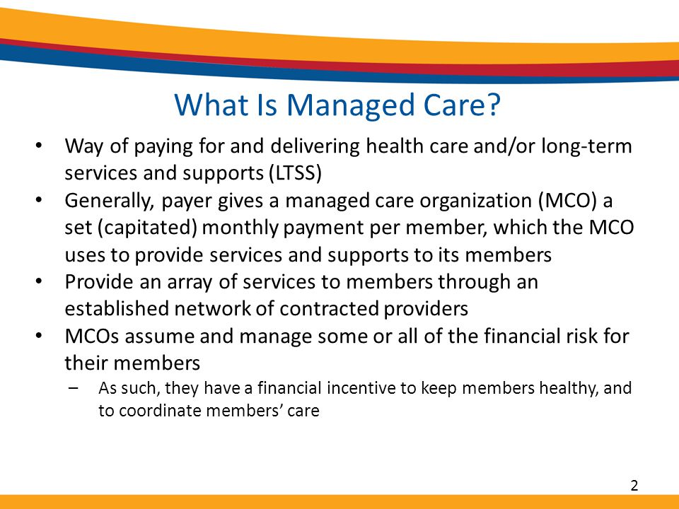 What Is Managed Care.