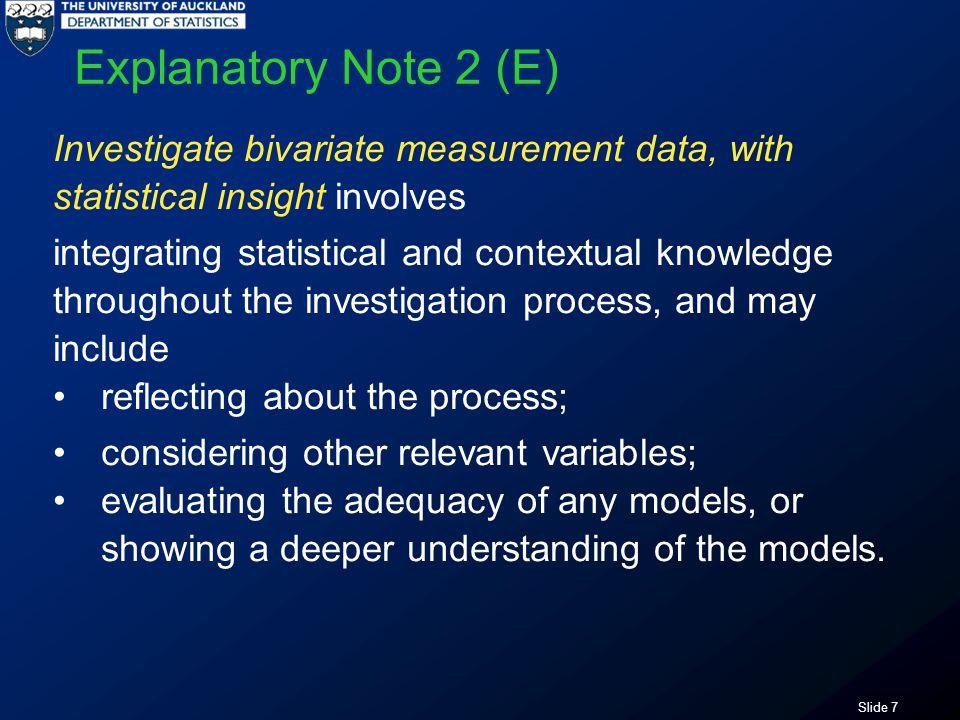 Slide 38 Anything else Variation in scatter?