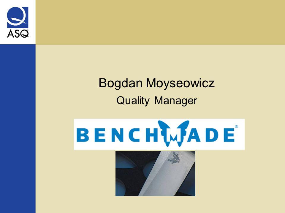 Bogdan Moyseowicz Quality Manager