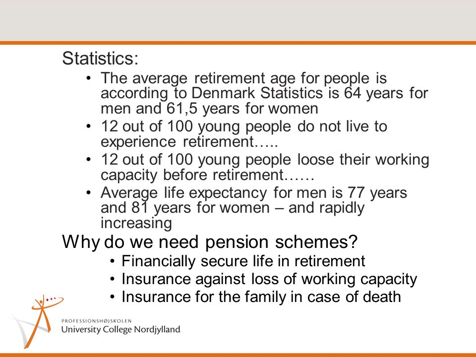 What should a pension scheme cover.