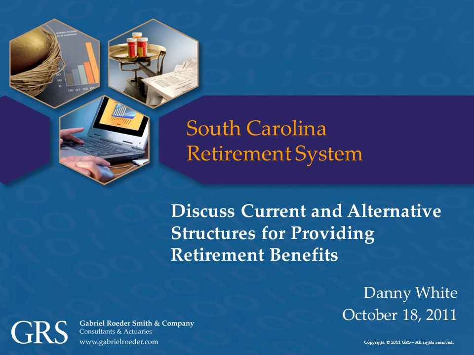 2 Objective of Today's Discussion  Provide information regarding the current state of the program  Identify characteristics of a successful and sustainable retirement program  Present alternative benefit structures that have those key characteristics ► Illustrate how the alternative programs impact the adequacy of retirement benefits
