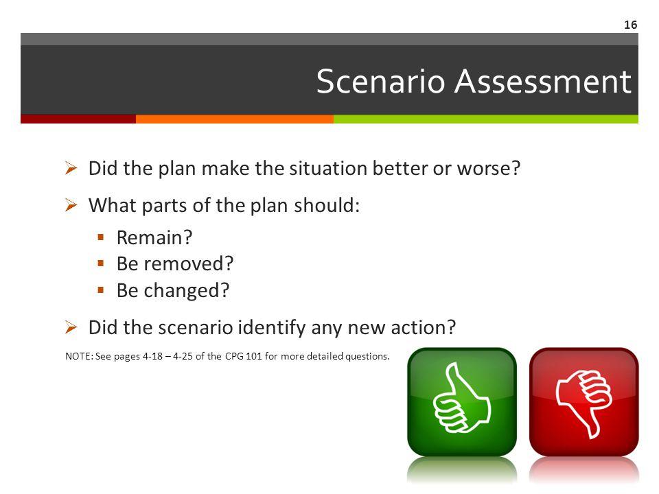 Scenario Testing 15