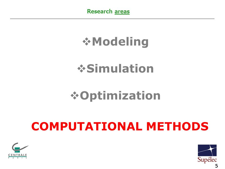 5 Agip KCO Introduction to exploration activities 5 Agip KCO Piping and long distance pipelines 5 Agip KCO Introduction to exploration activities 5 Agip KCO Piping and long distance pipelines  Modeling  Simulation  Optimization Research areas COMPUTATIONAL METHODS