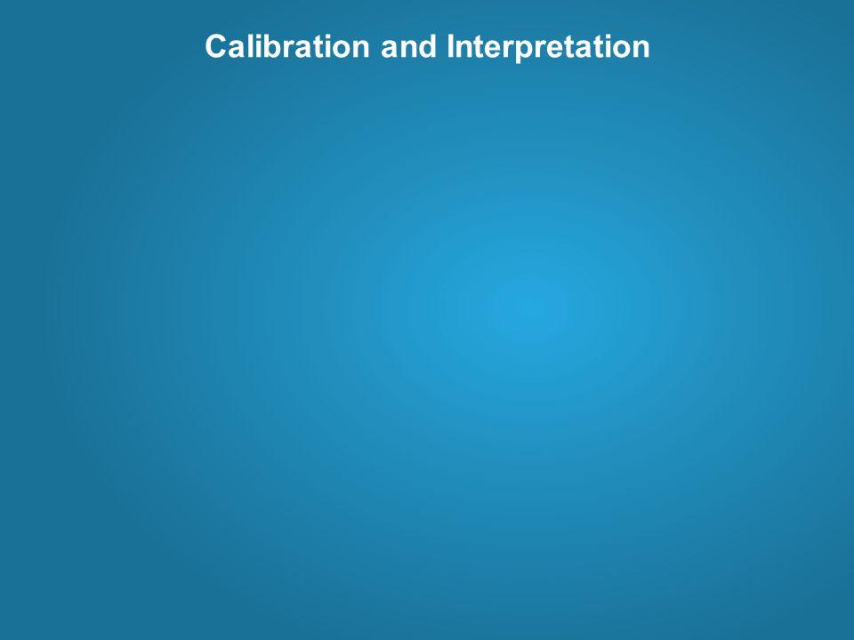 Calibration and Interpretation