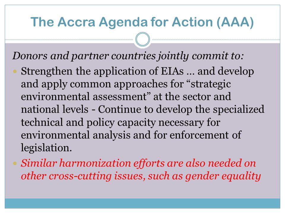 HLF4  reviewing implementation of the Paris Declaration targets.