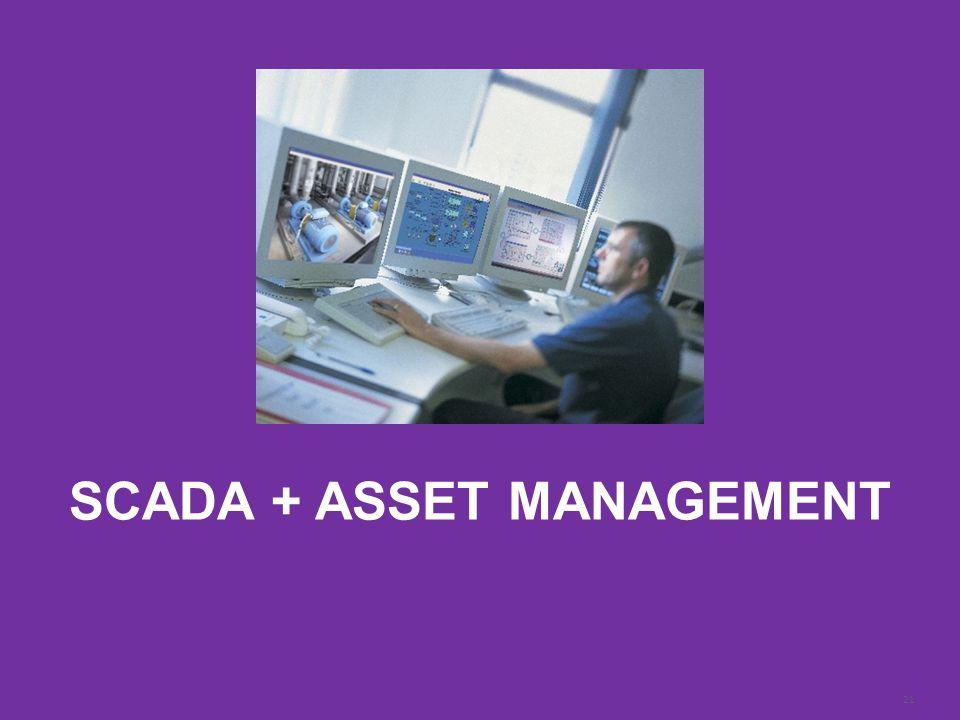 21 Schneider Electric| Steve Callahan | 2014 MWEA Annual Conference | 9:30am Monday June 23 rd, 2014 SCADA + ASSET MANAGEMENT