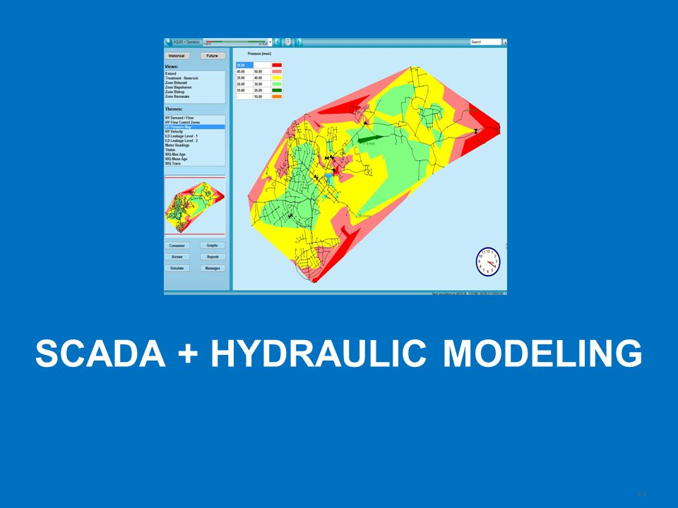 24 Schneider Electric| Steve Callahan | 2014 MWEA Annual Conference | 9:30am Monday June 23 rd, 2014 SCADA + HYDRAULIC MODELING