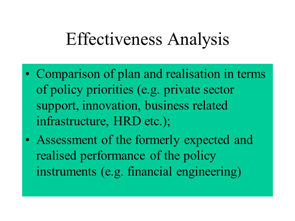 Relevance of Strategy and Expenditure Are the strategies adopted by the regions sufficiently relevant.