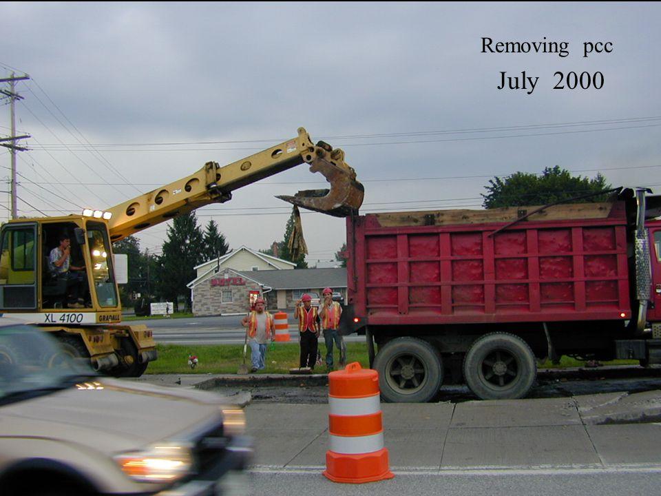 July 2000 Removing pcc