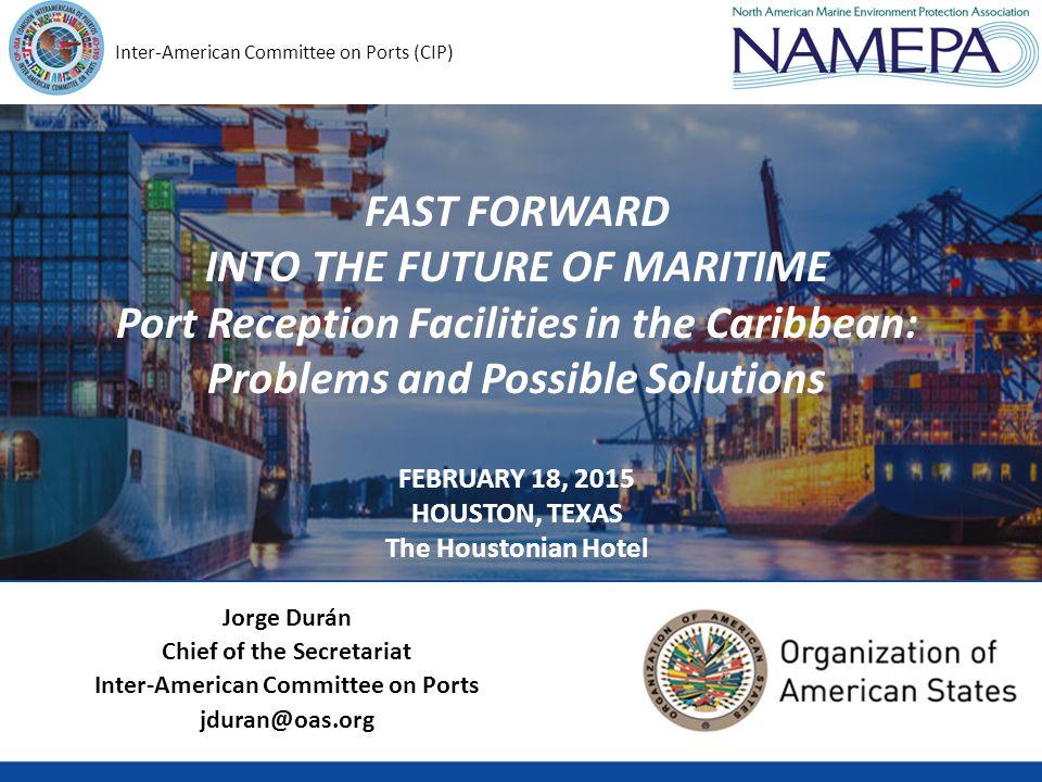 Closer Cooperation with the Associate Members Port Incentive Programs Save our Seas Initiative Port Reception Technology GUÍA DEL EDUCADOR SOBRE DESECHOS MARINOS