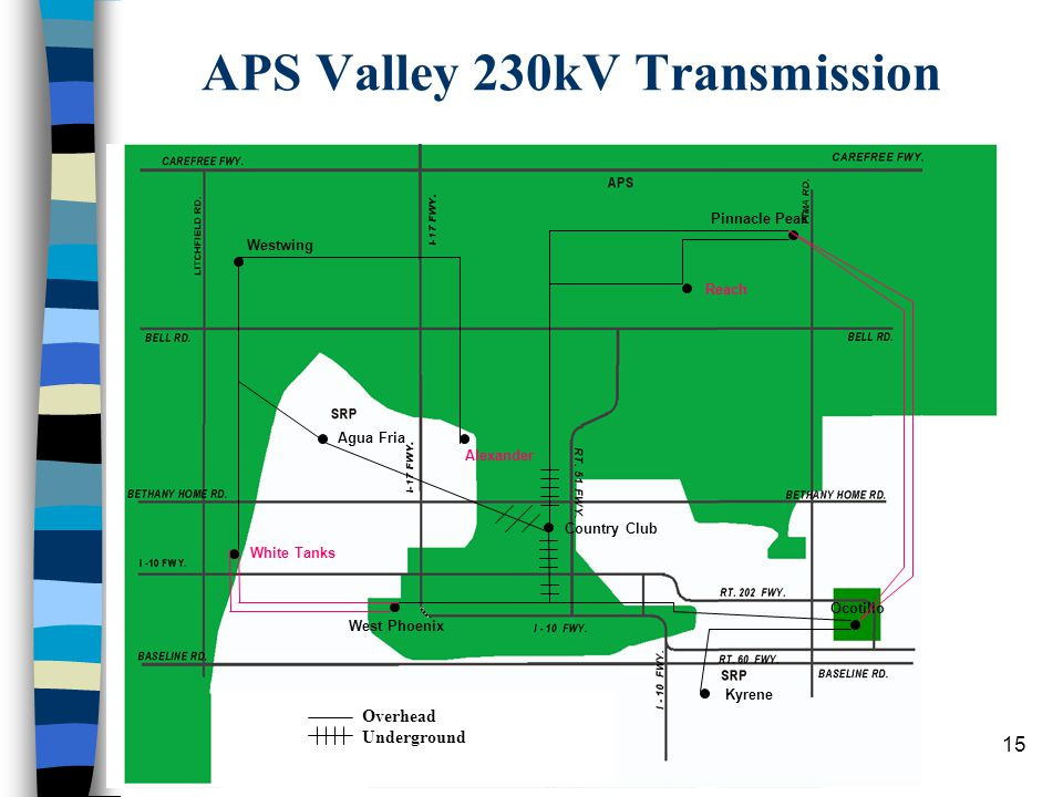 14 APS EHV System 20012002 Total Transmission to Load 4261 4261 Purchased Transmission 400 675 Total 4661 4936 Remote Generation (2817) (3805) Purchas