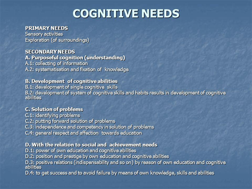 1.Stimulation through unconscious perception and experimentation.