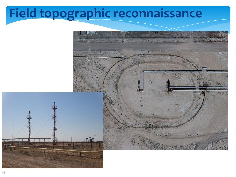 Field topographic reconnaissance 11