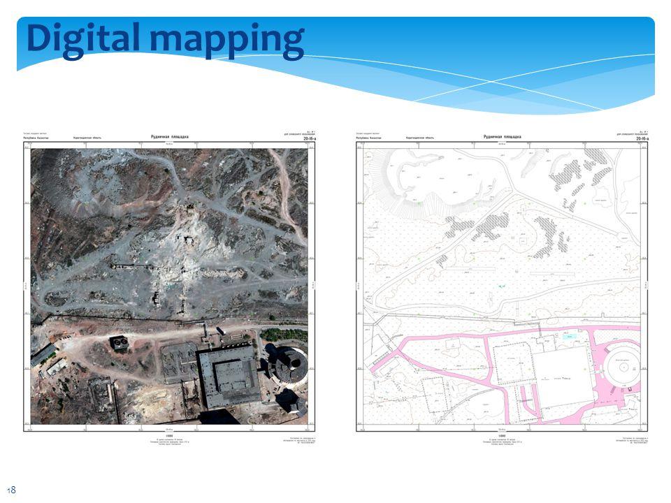 Digital mapping 18
