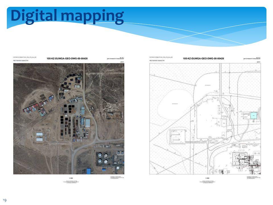 Digital mapping 19