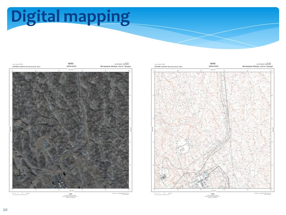 Digital mapping 20