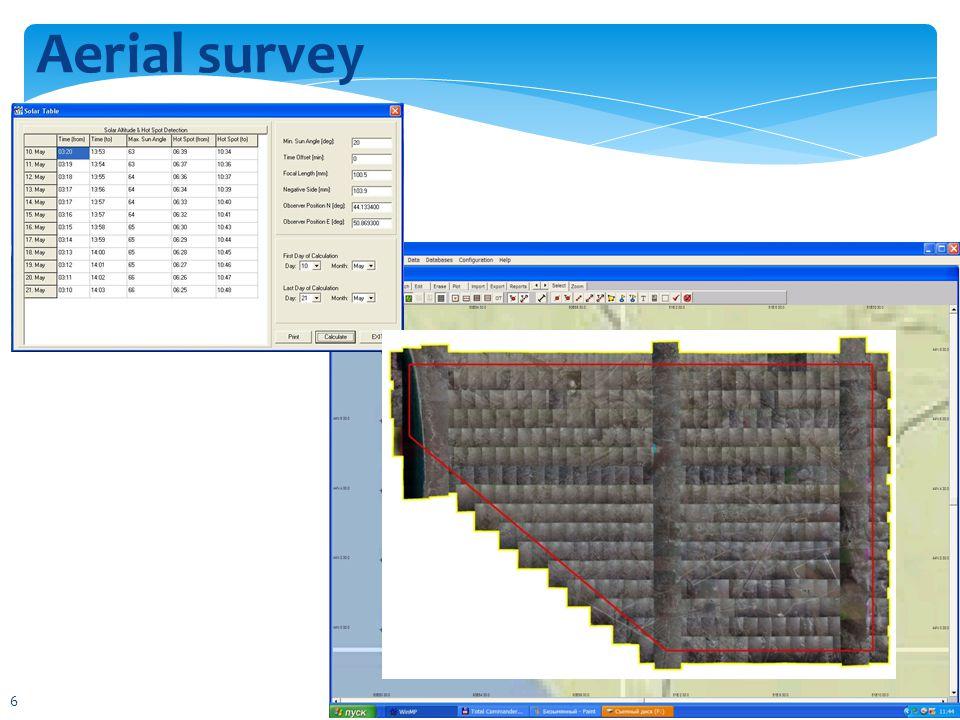 Aerial survey 6