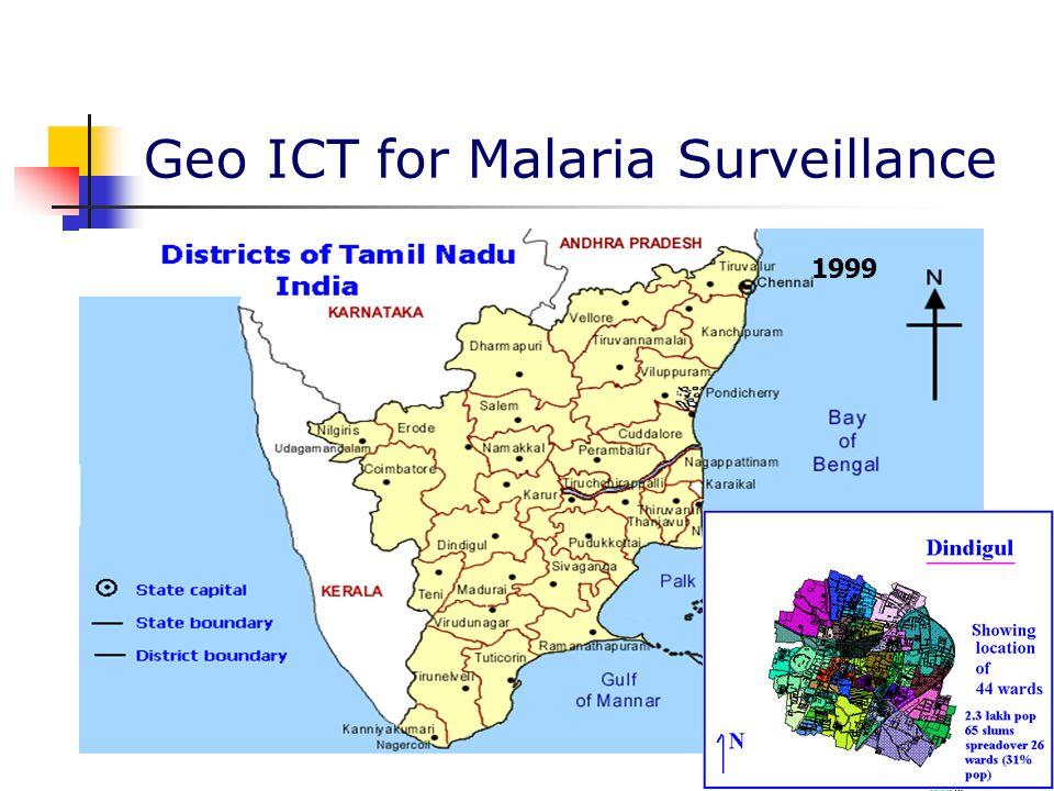 Geo ICT for Malaria Surveillance 1999