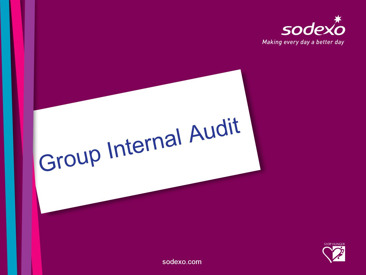 sodexo.com Group Internal Audit