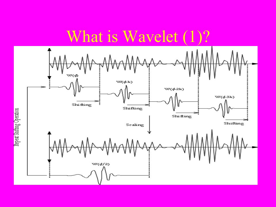 What is Wavelet (1)?