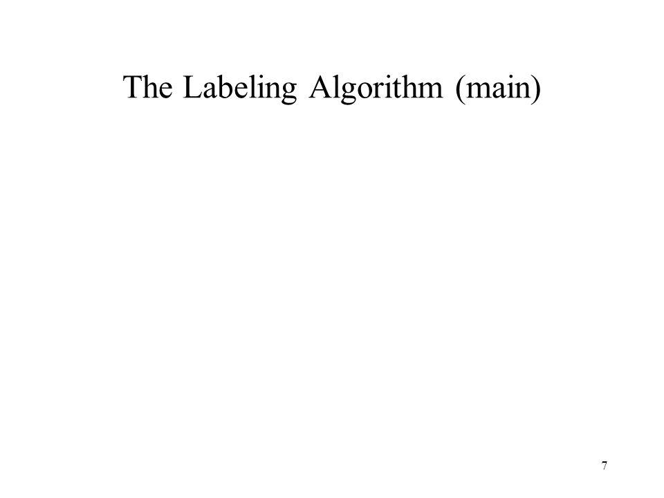 7 The Labeling Algorithm (main)