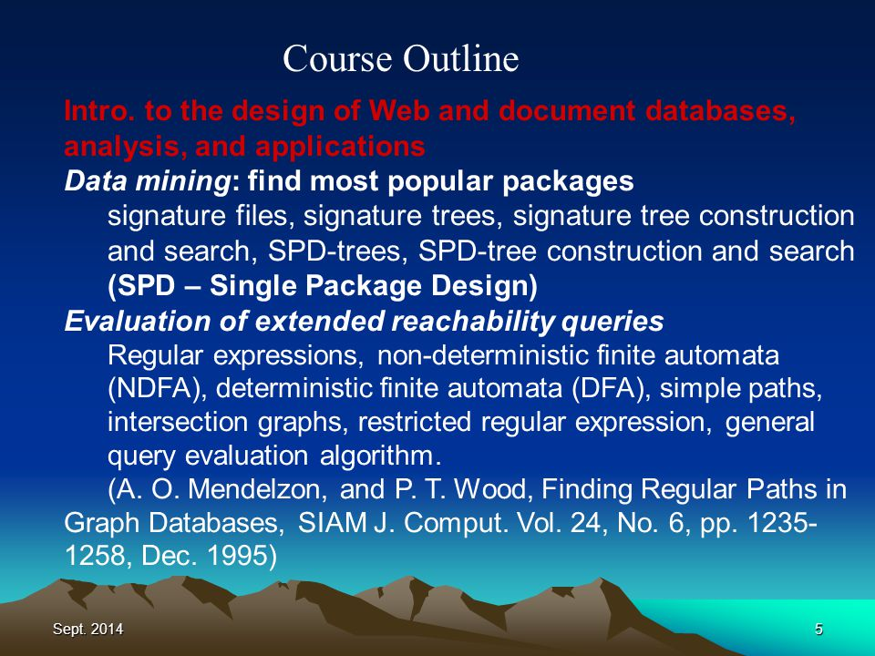 Sept. 20145 Course Outline Intro.