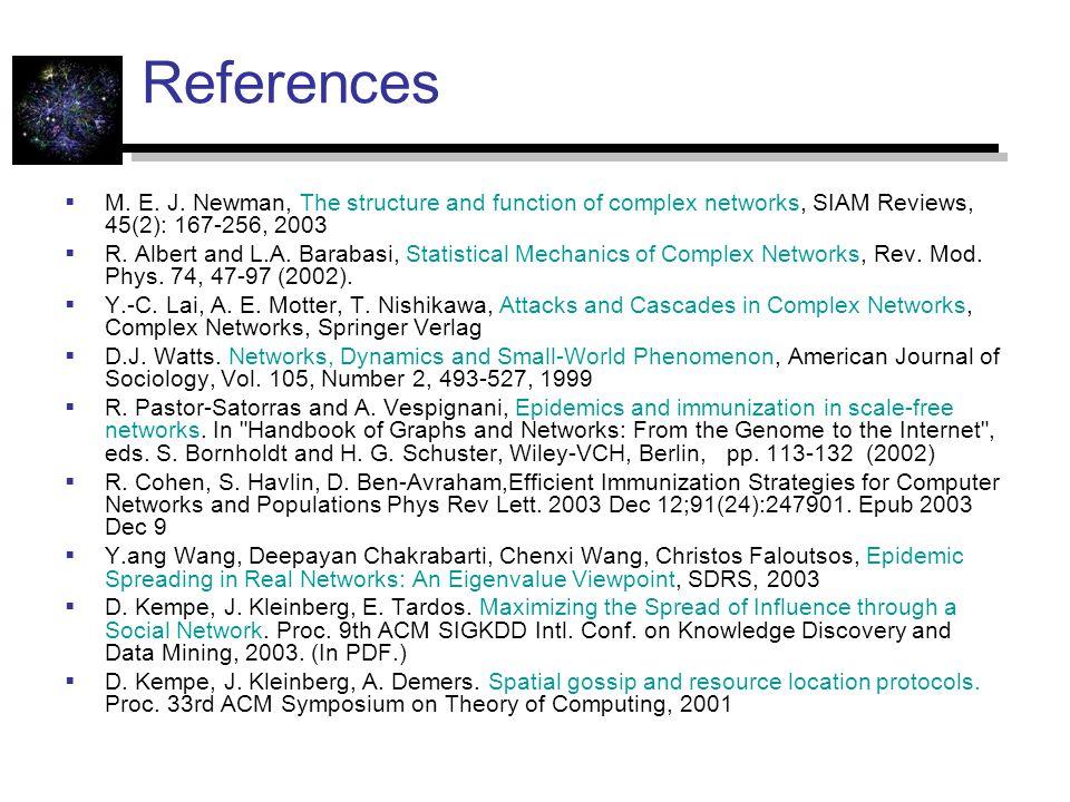 References  M. E. J.