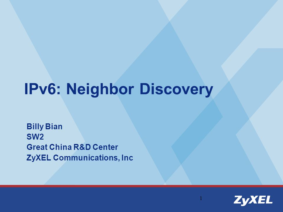 2 Outline: Neighbor Discovery (ND) Overview Neighbor Discovery Message Format Neighbor Discovery Processes Conceptual Host Data Structures Host Sending Algorithm Appendix Q&A