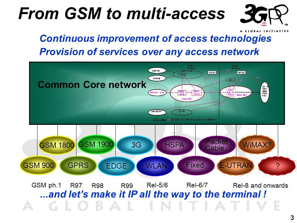 14 Multi-mode, CS fallback Directing the UE from E-UTRAN to 2G/3G for CS service PLMN serving remote user MSC E-UTRAN 2G or 3G MME SETUP call setup paging paging resp.