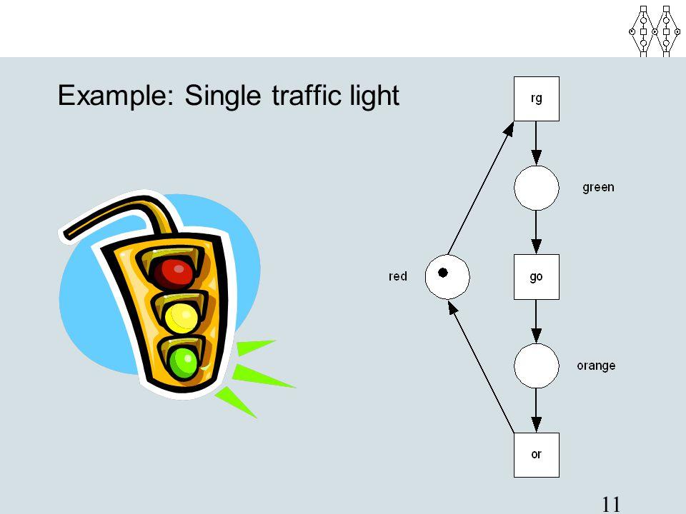 11 Example: Single traffic light