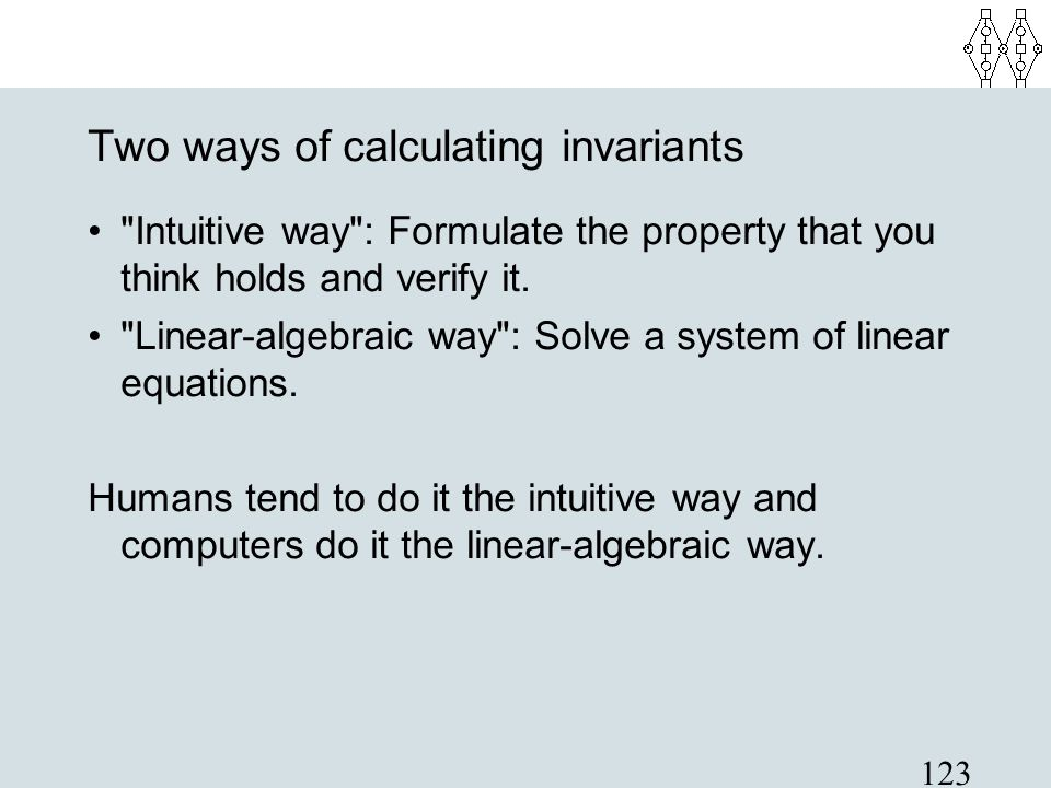 123 Two ways of calculating invariants
