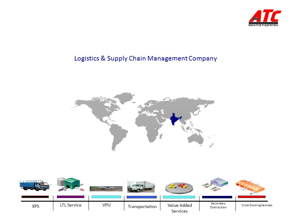 Transportation XPS Value Added Services Secondary Distribution LTL ServiceVPU Cross Docking Services Logistics & Supply Chain Management Company