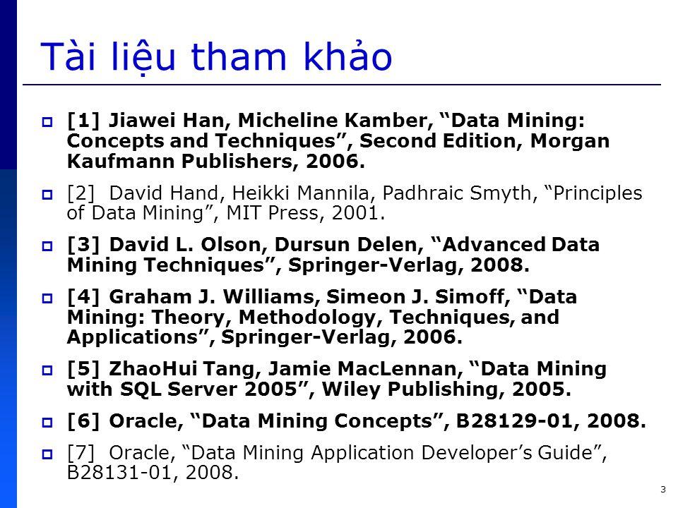 54 5.2. Gom cụm dữ liệu bằng phân hoạch  Đặc điểm của giải thuật PAM (k-medoids) ???