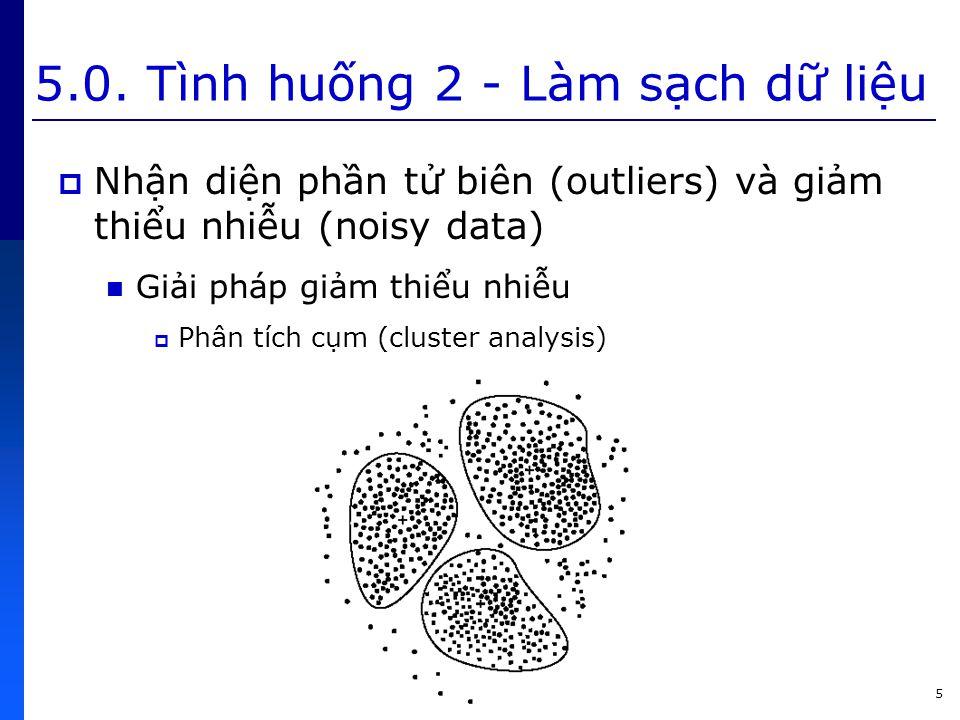 46 5.2. Gom cụm dữ liệu bằng phân hoạch  Đặc điểm của giải thuật k-means?