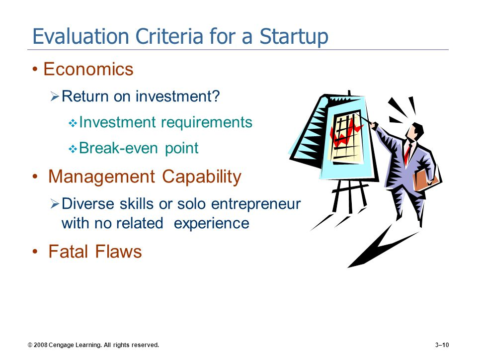 © 2008 Cengage Learning. All rights reserved.3–11 Types of Ideas That Develop into Startups 3-2