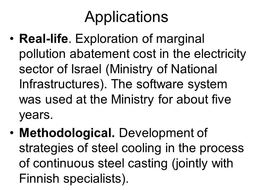 Applications Real-life.