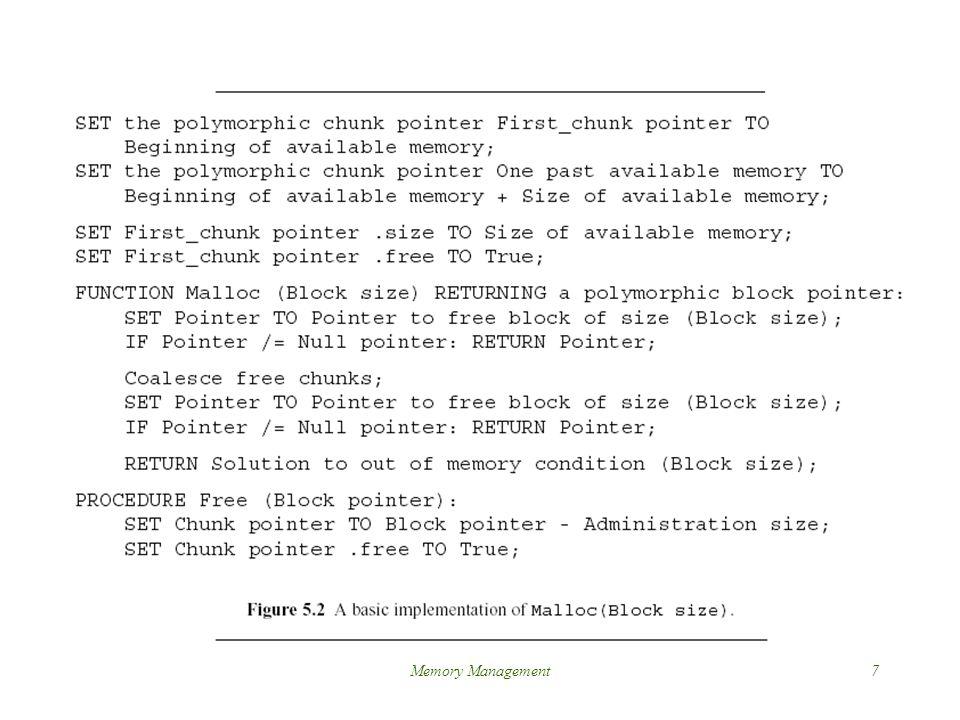 Memory Management7