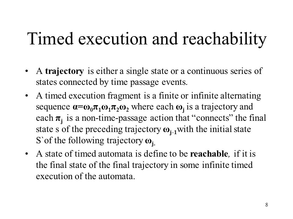 9 Invariant and simulation mapping An invariant of a timed automaton is any property that is true if any set of states that contain all the reachable states.