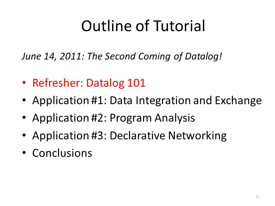 Program Analysis 76 Evita Raced: Meta-compilation for declarative networks , Condie et al., VLDB '08