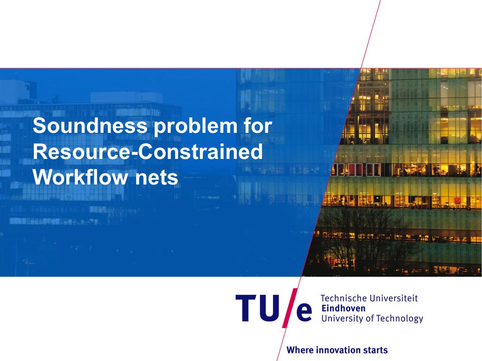Soundness problem for Resource-Constrained Workflow nets