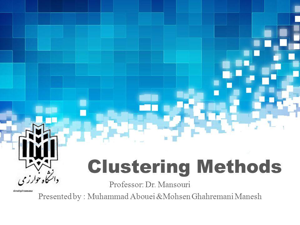 OPTICS 32  Color image segmentation using density-Based clustering