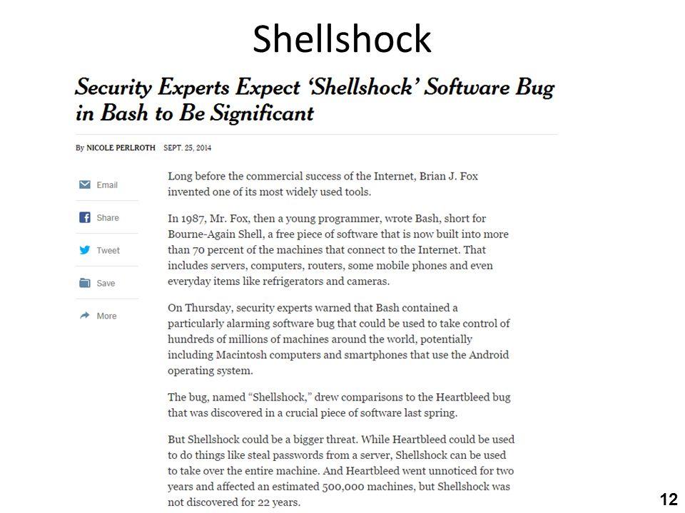 Shellshock 12