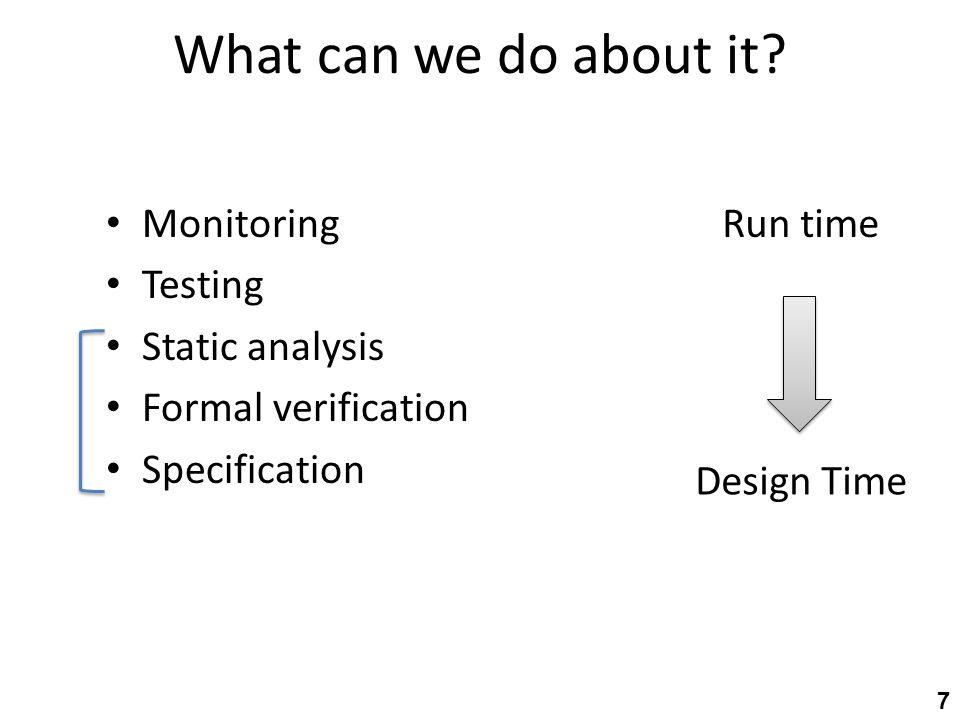 Program analysis & verification y = .x = .
