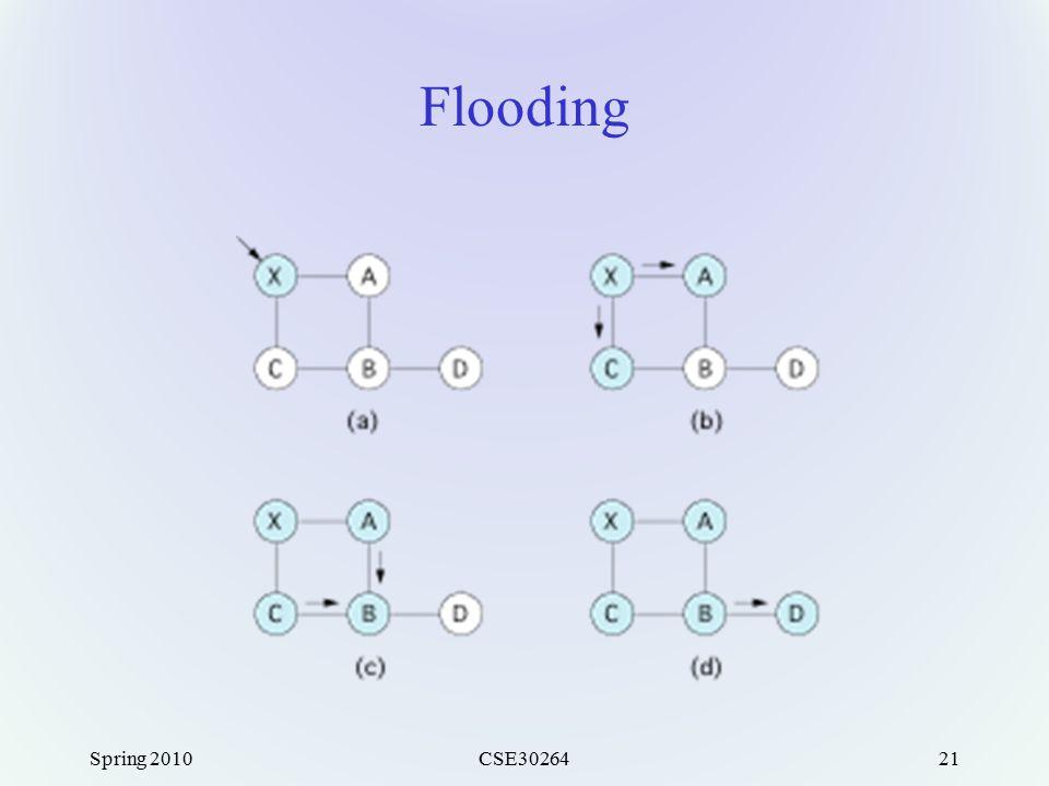 Spring 2010CSE3026421 Flooding