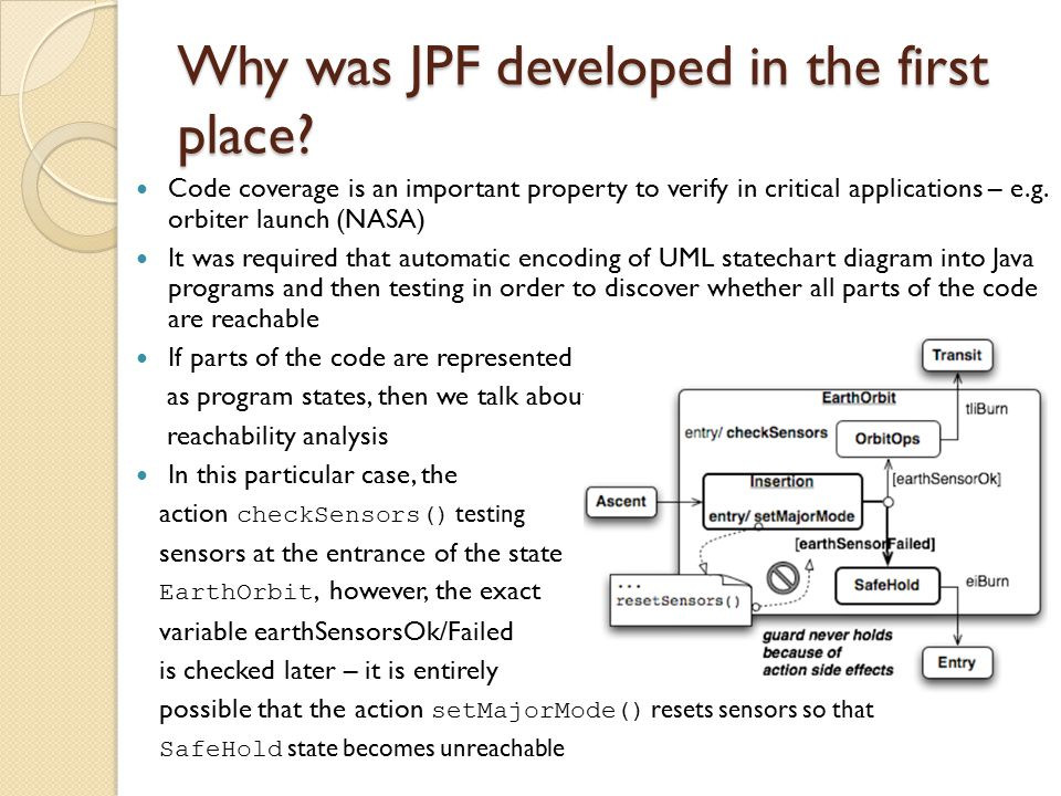Why was JPF developed in the first place.